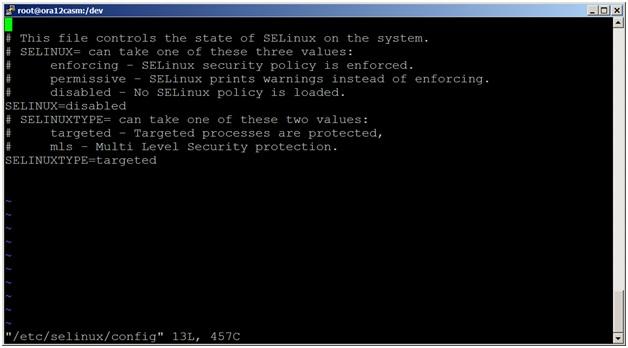 disableselinux